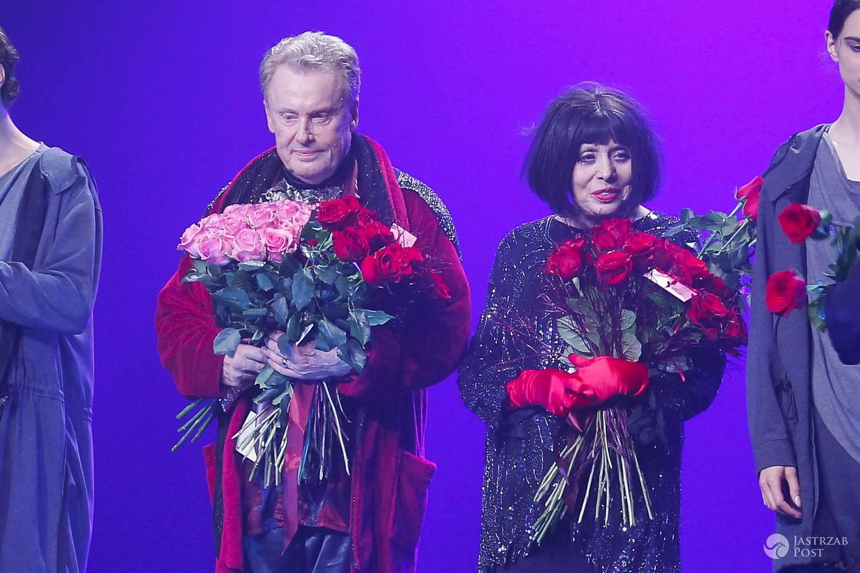 Daniel Olbrychski, Barbara Wrzesińska - premiera spektaklu Princess Ivona
