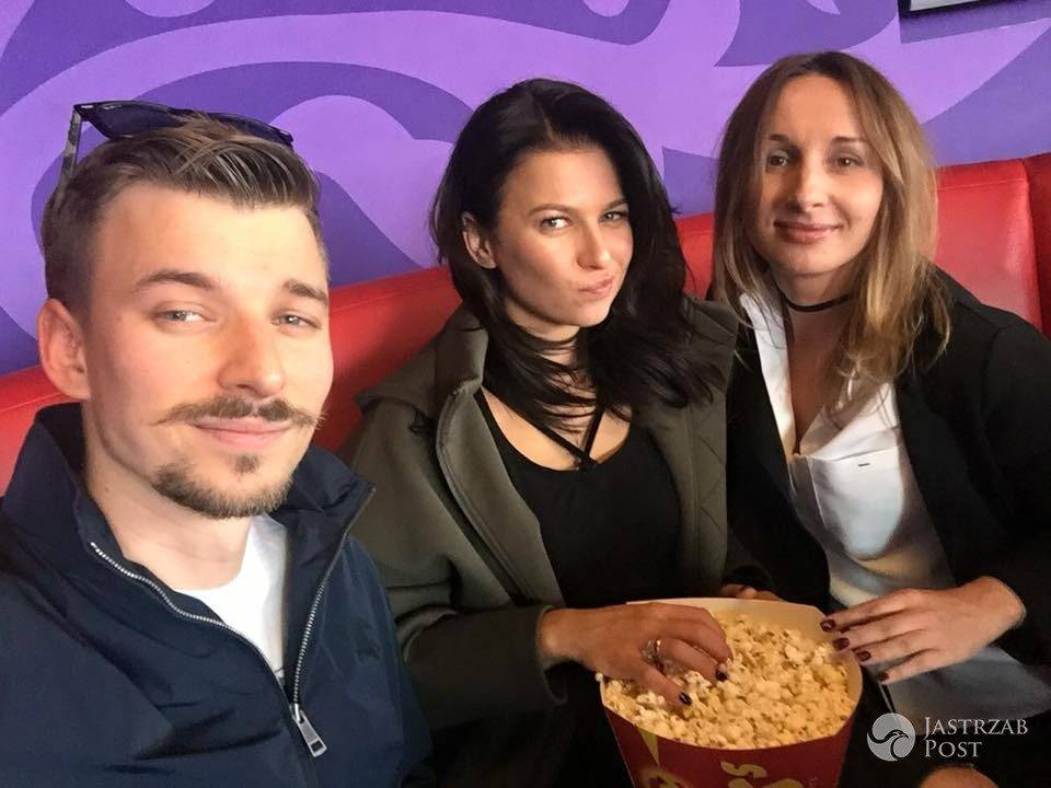 Anna Lewandowska je popcorn