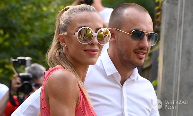 Ewa Chodakowska i Lefteris Kavoukis na ślubie Małgorzaty Rozenek i Radosława Majdana