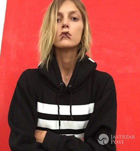 "Anja Rubik popiera ""Czarny protest"""
