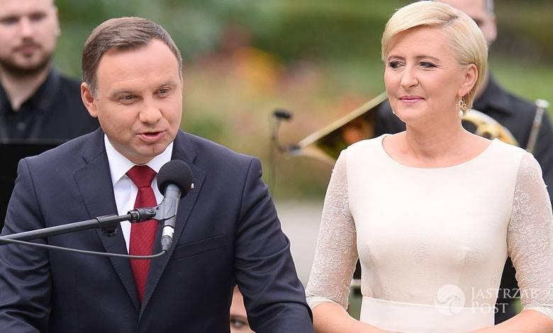 Andrzej Duda i Agata Duda na Narodowym czytaniu