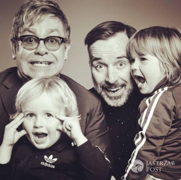 Dzieci Eltona Johna i Davida Furnisha