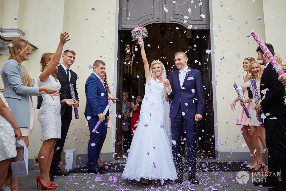 Iwona Lewandowska wyszła za mąż