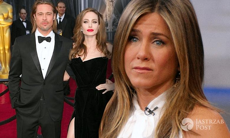 Jennifer Aniston o rozwodzie Brada Pitta i Angeliny Jolie