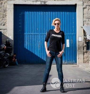 Martyna Wojciechowska wsparła czarny protest