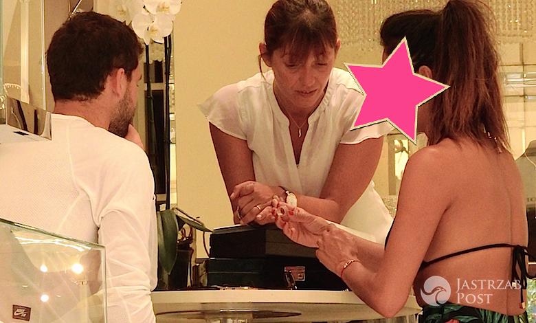 Nicole Scherzinger kupuje pierścionek