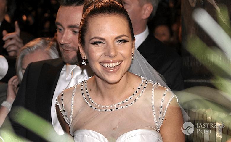 Druga suknia ślubna Oli Kwaśniewskiej