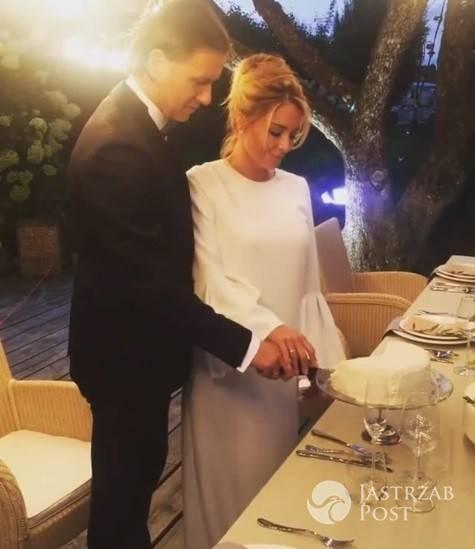 Trzecia suknia ślubna Małgorzaty Rozenek