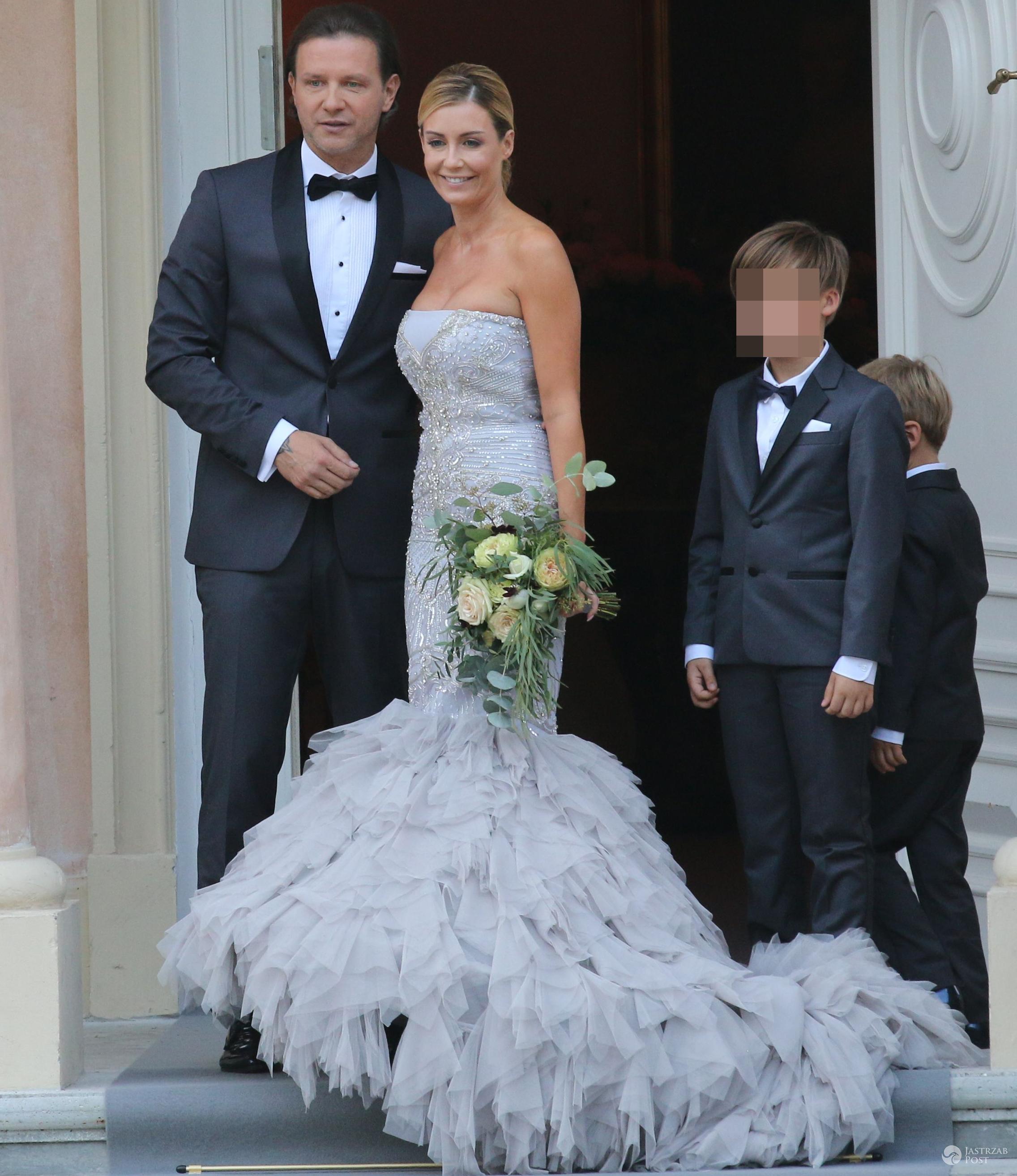 Ślubny bukiet Małgorzaty Rozenek