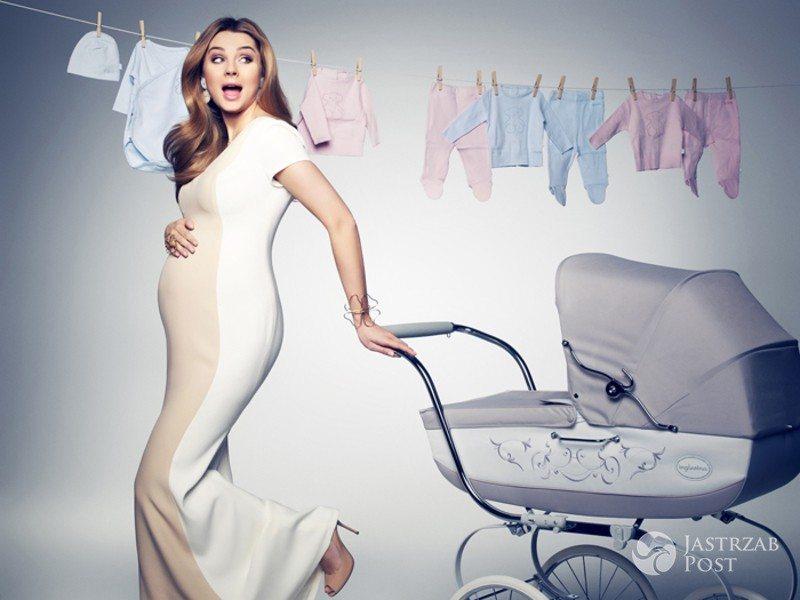 Małgorzata Socha sesja w ciąży