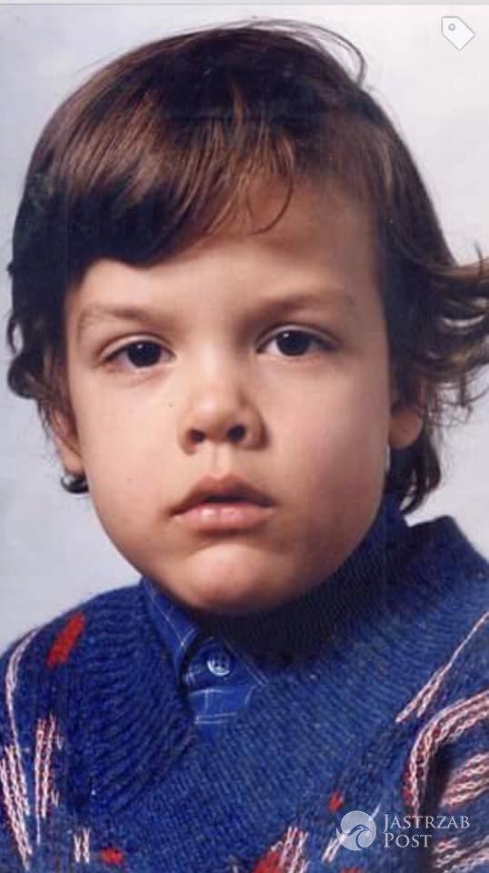 Conrado Moreno w dzieciństwie