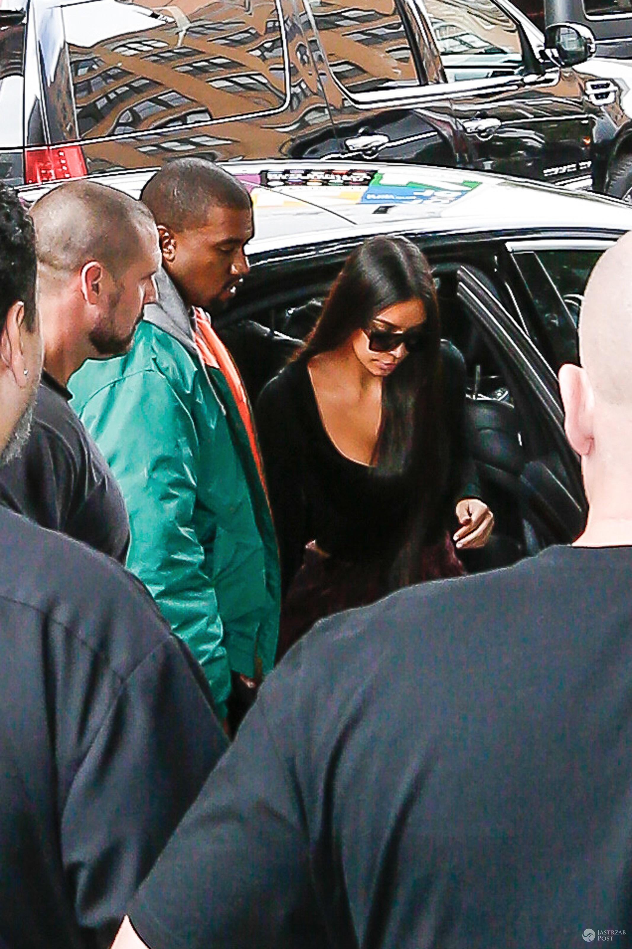 Kim Kardashian nazwała Kanye Westa dupkiem