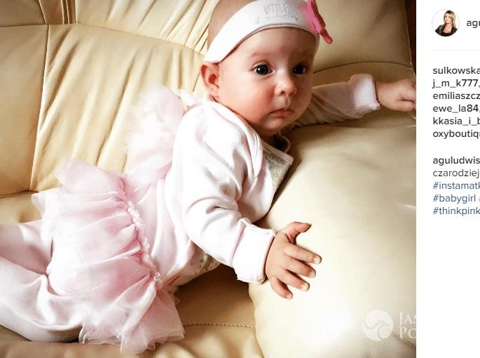 Agnieszka Ludwisiak-Wypior pokazała zdjęcie córki