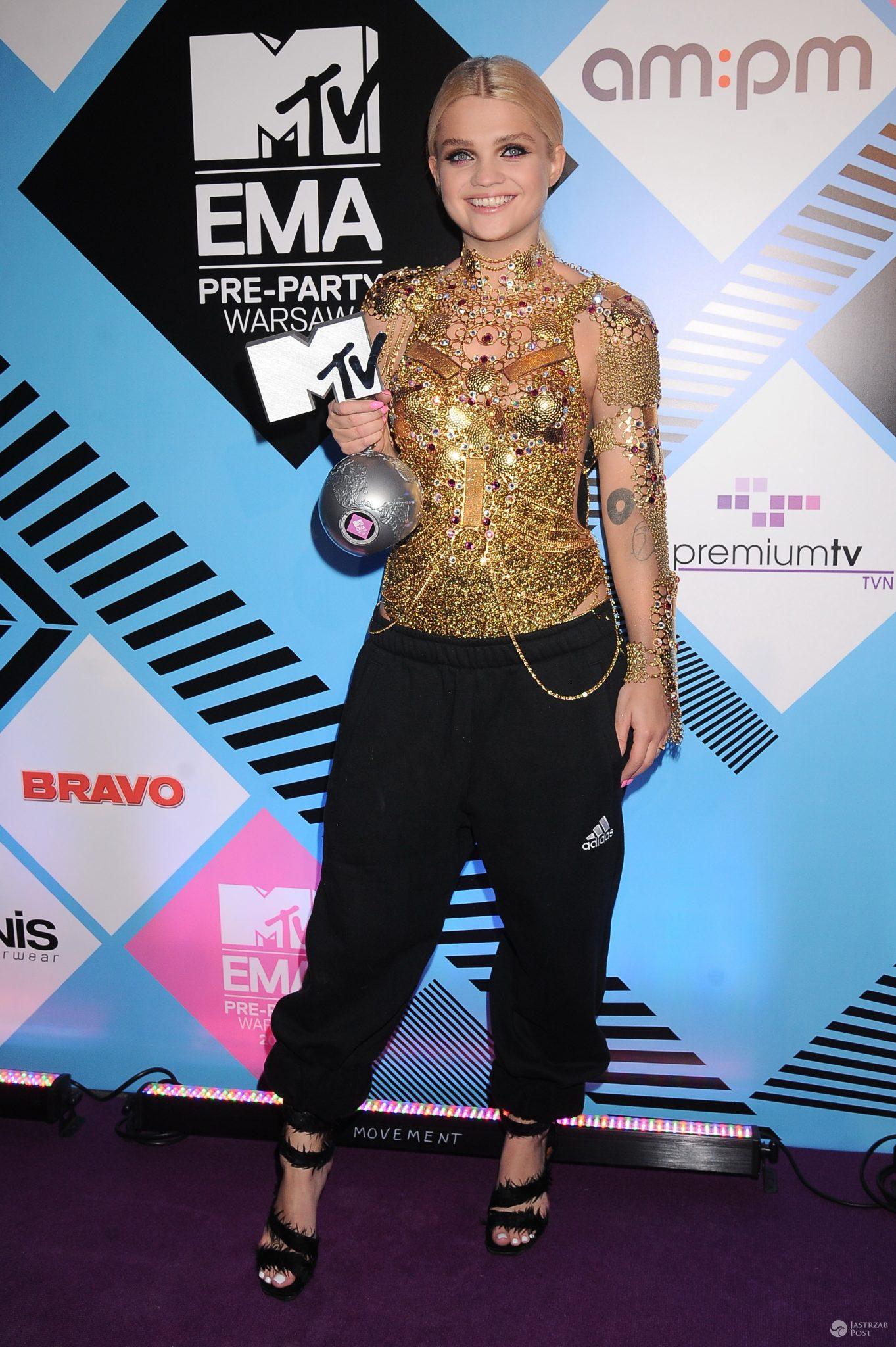 Margaret z nagrodą MTV EMA 2014