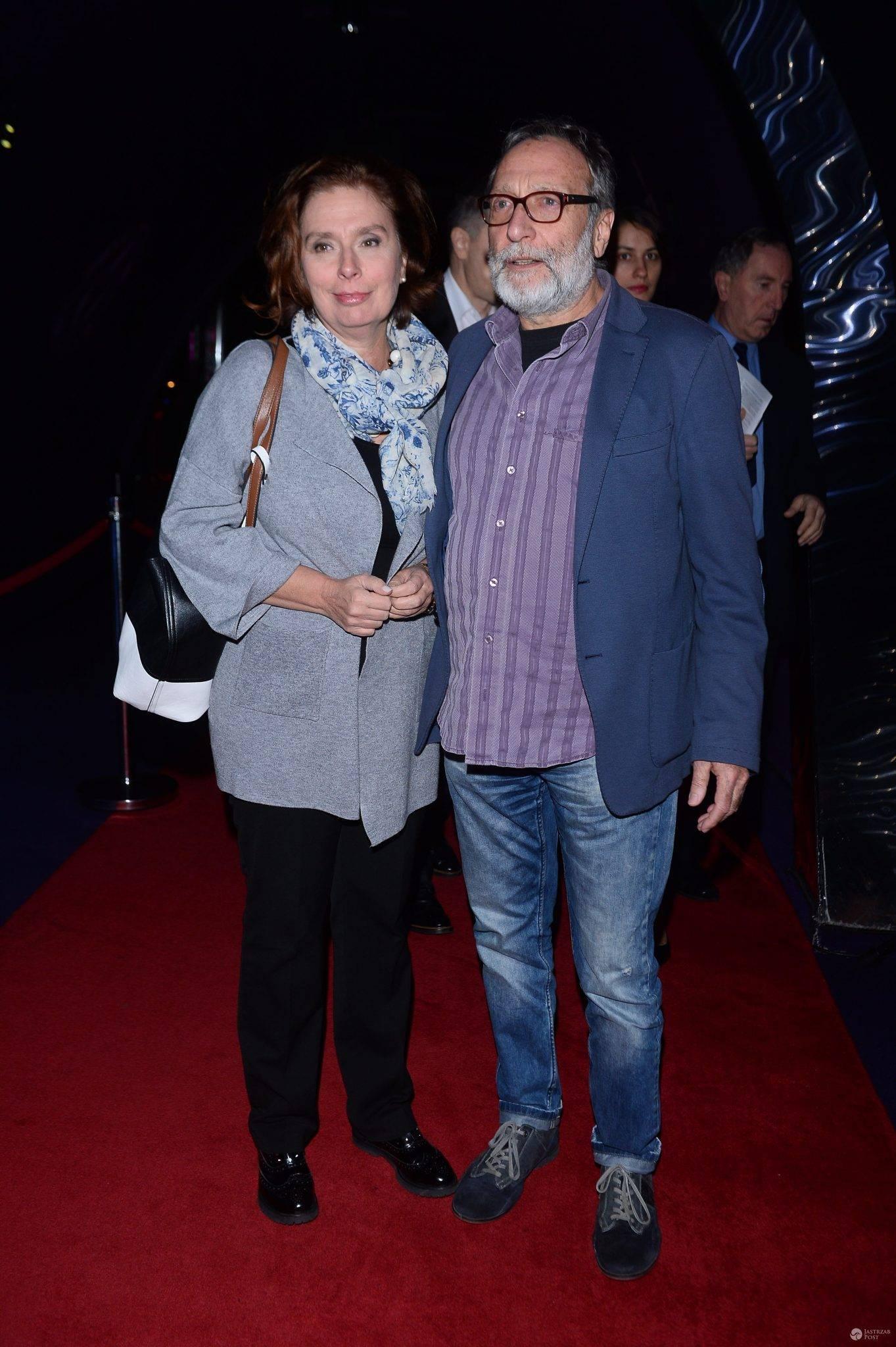 Wybory 2020: Małgorzata Kidawa-Błońska wraz z mężem Janem Kidawą-Błońskim na 32. Warszawskim Festiwalu Filmowym