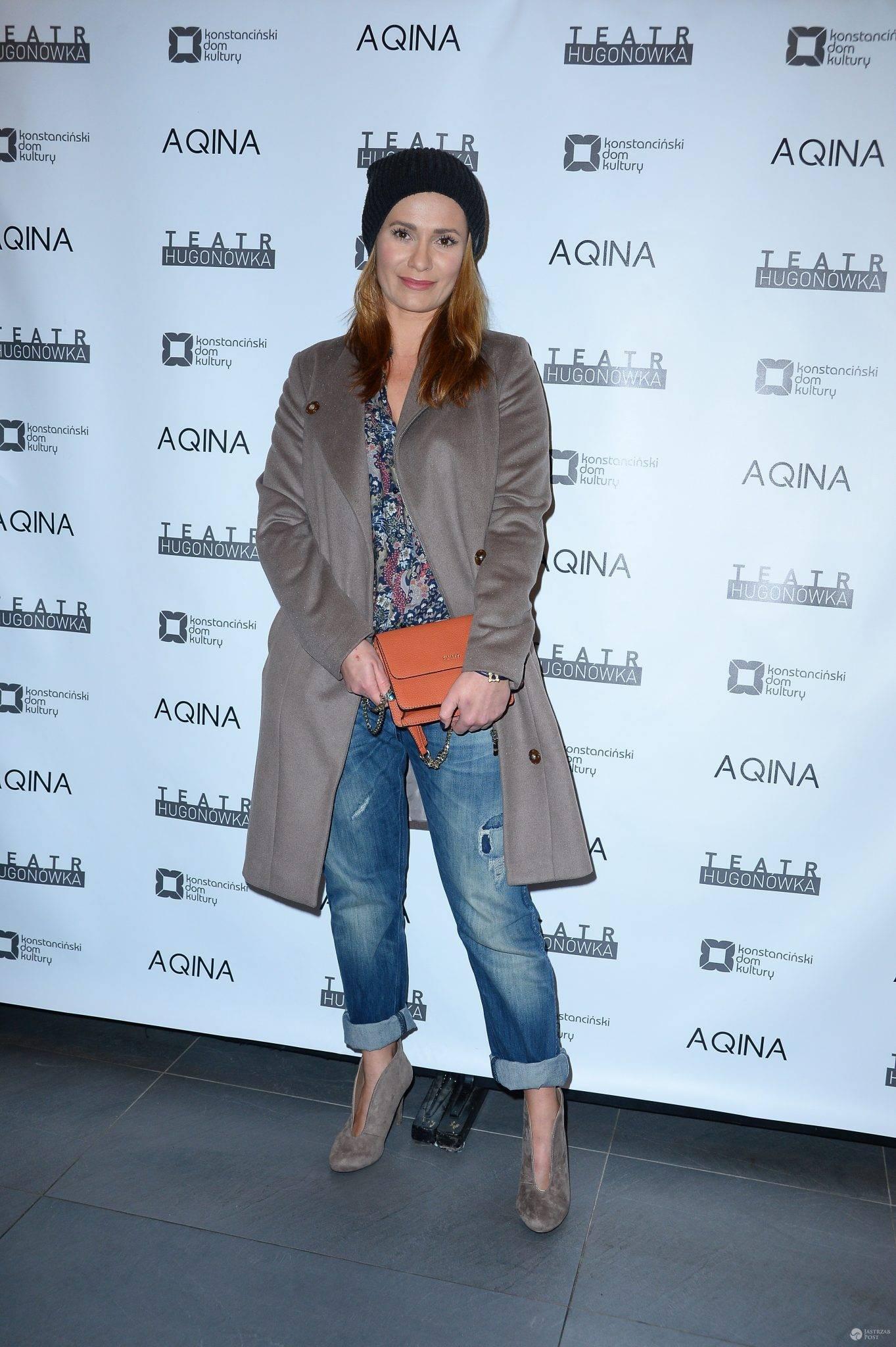 Dominika Gwit na premierze