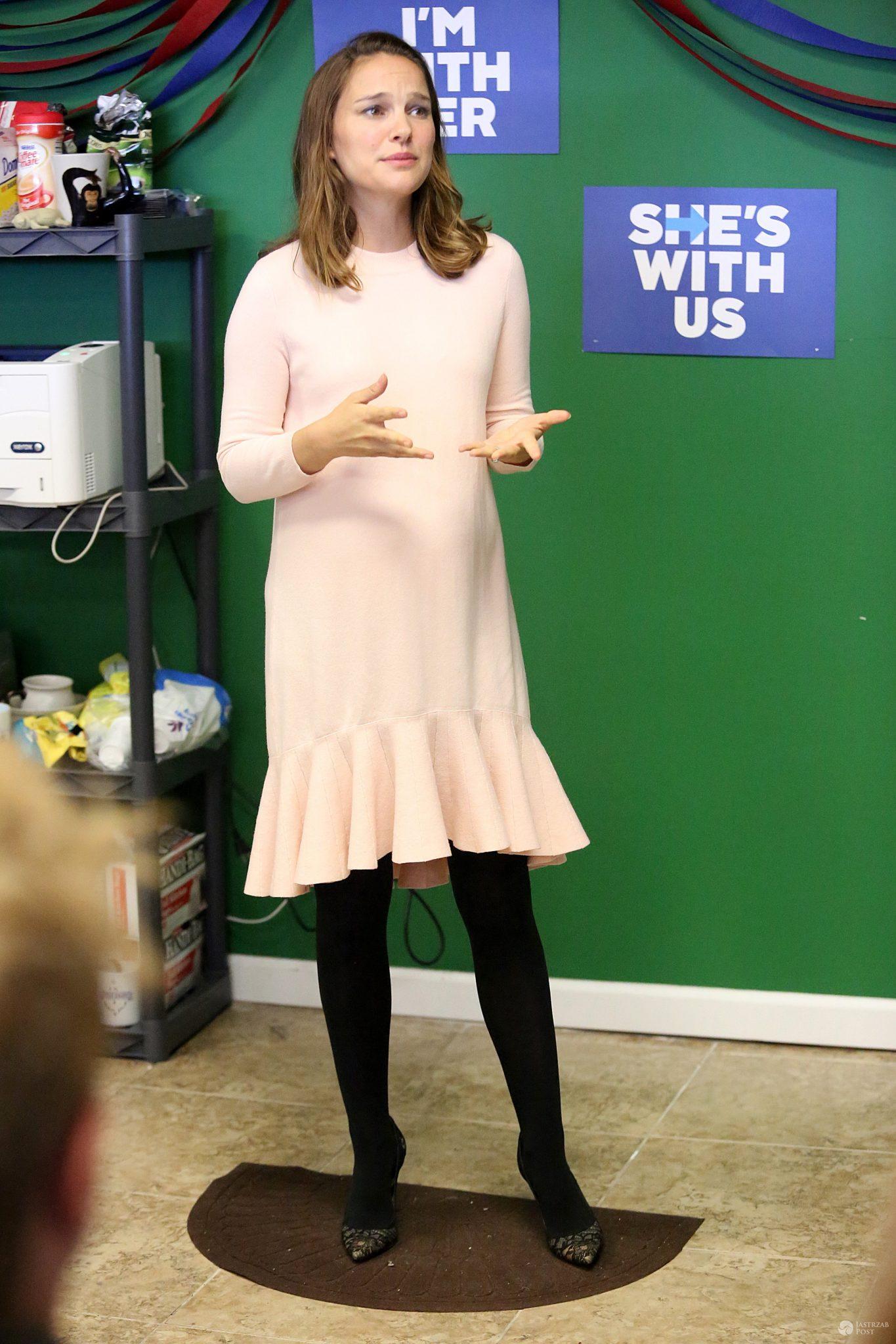 Natalie Portman w kampanii Hillary Clinton 2016