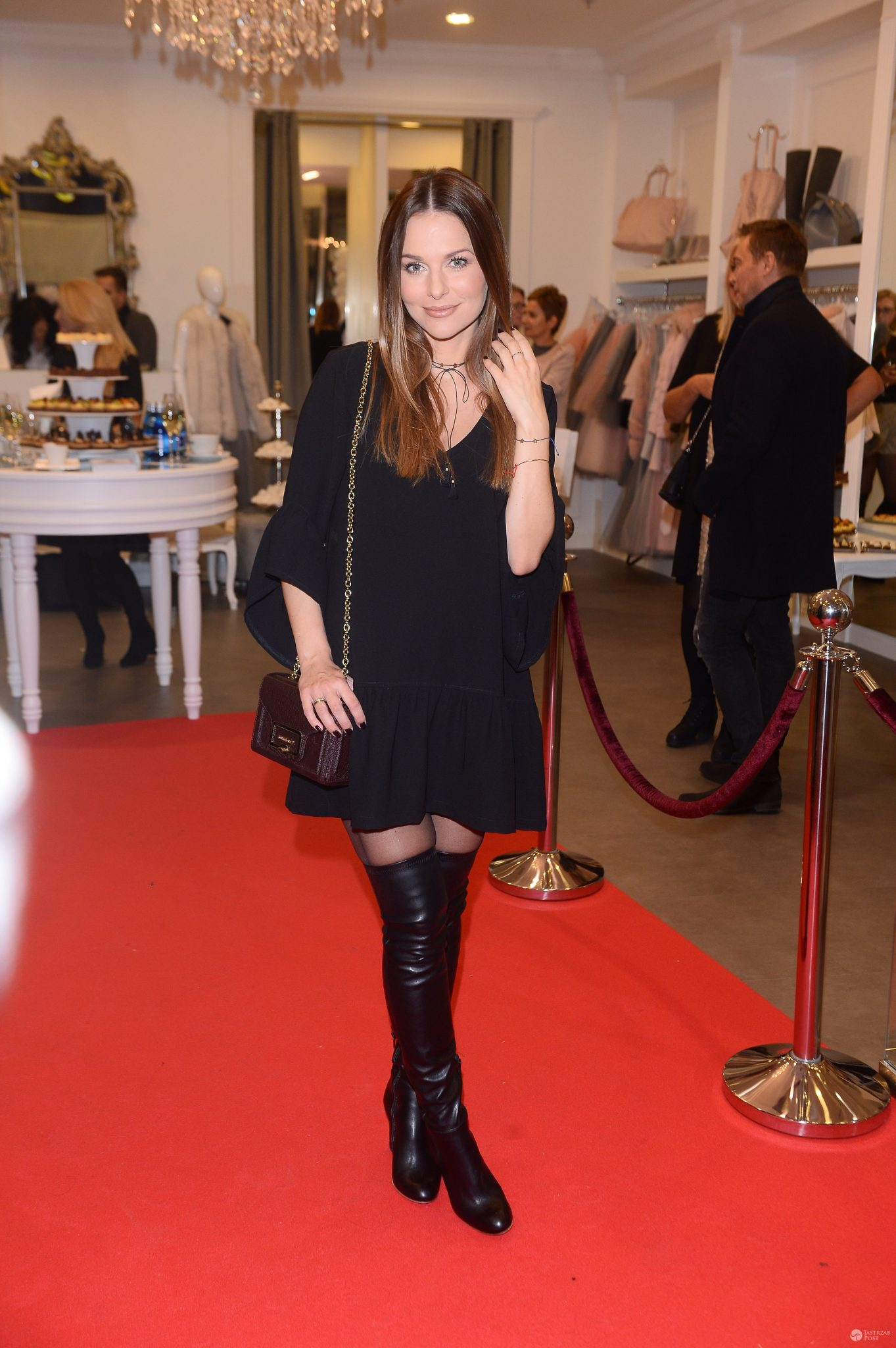 Paulina Sykut - otwarcie salonu White House