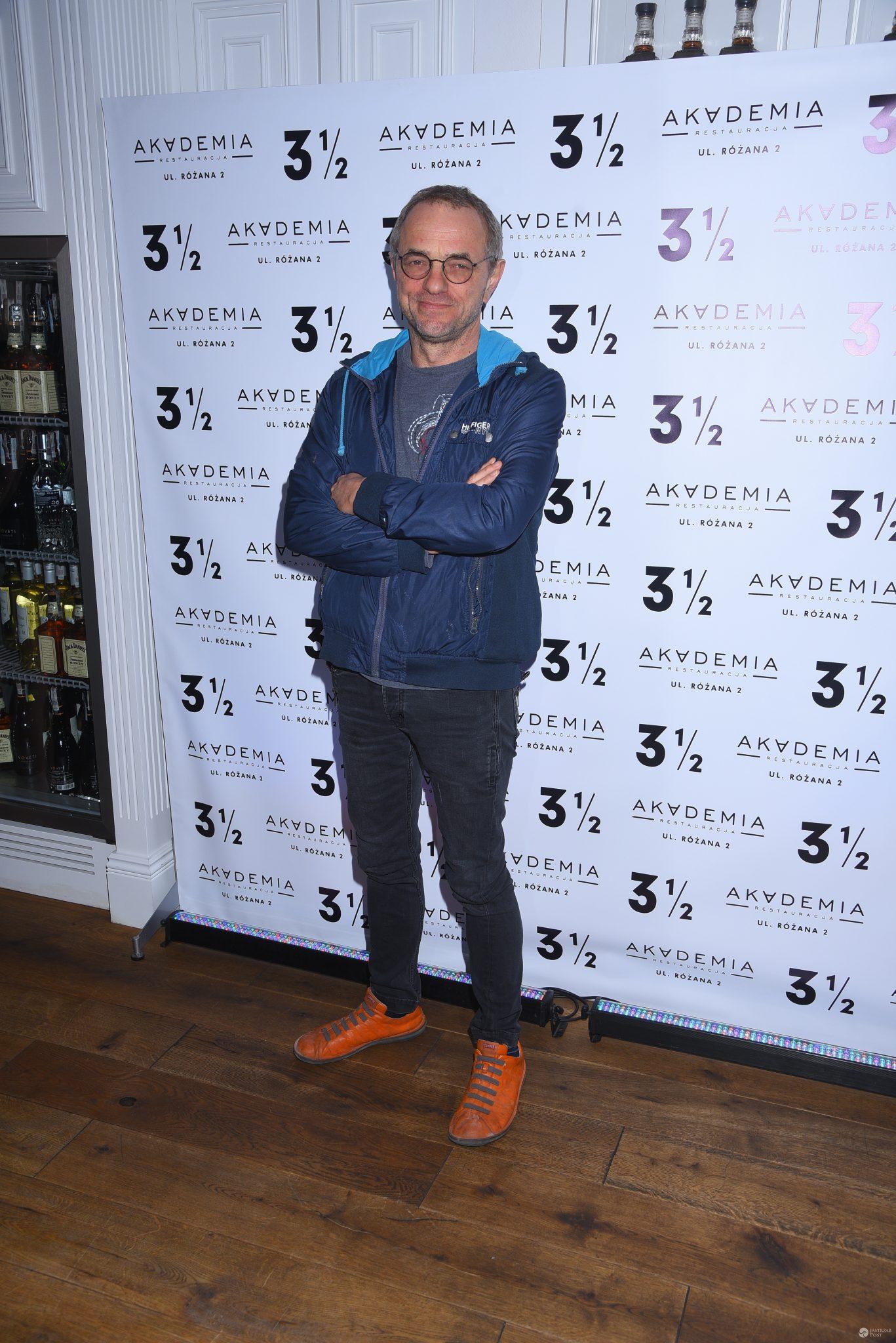 Piotr Najsztub - urodziny restauracji Akademia