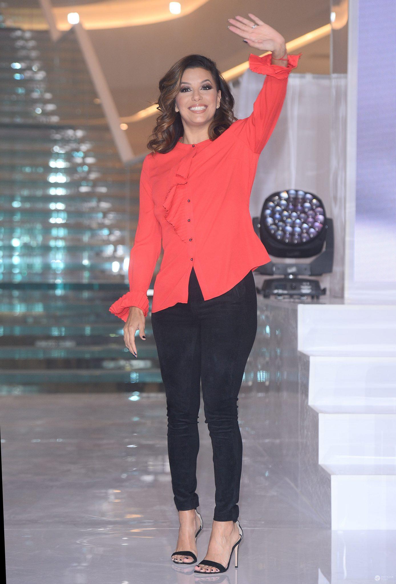 Eva Longoria na otwarciu Posnanii
