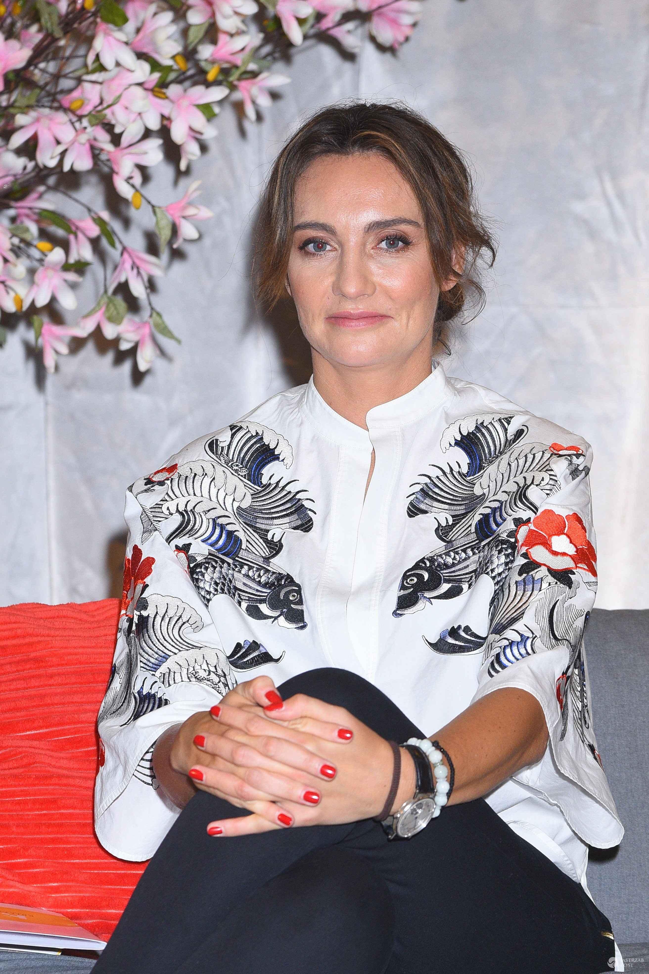 Dominika Kulczyk na premierze książki