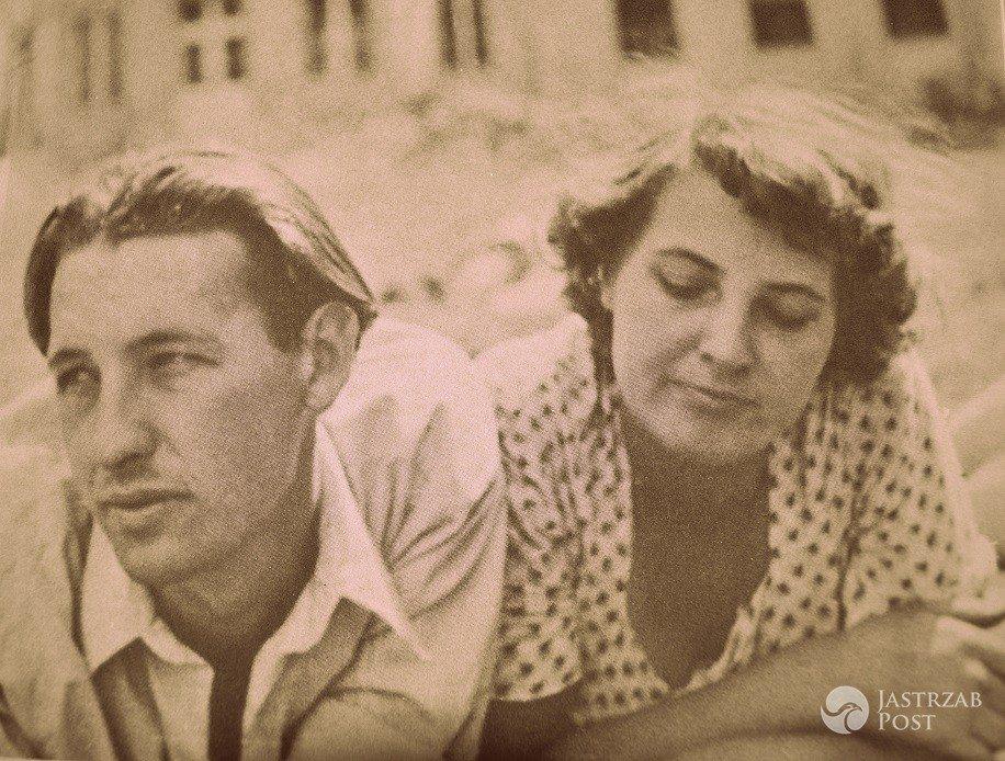 Andrzej Wajda i Gabriela Obremba