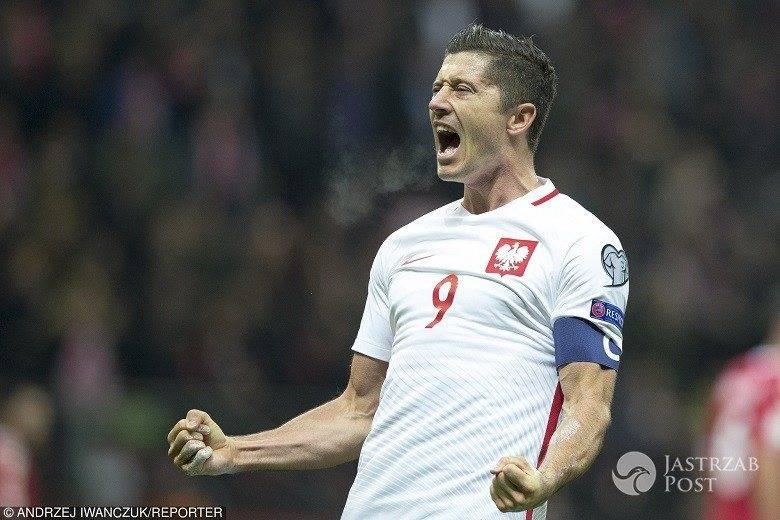 Robert Lewandowski mecz Polska-Dania