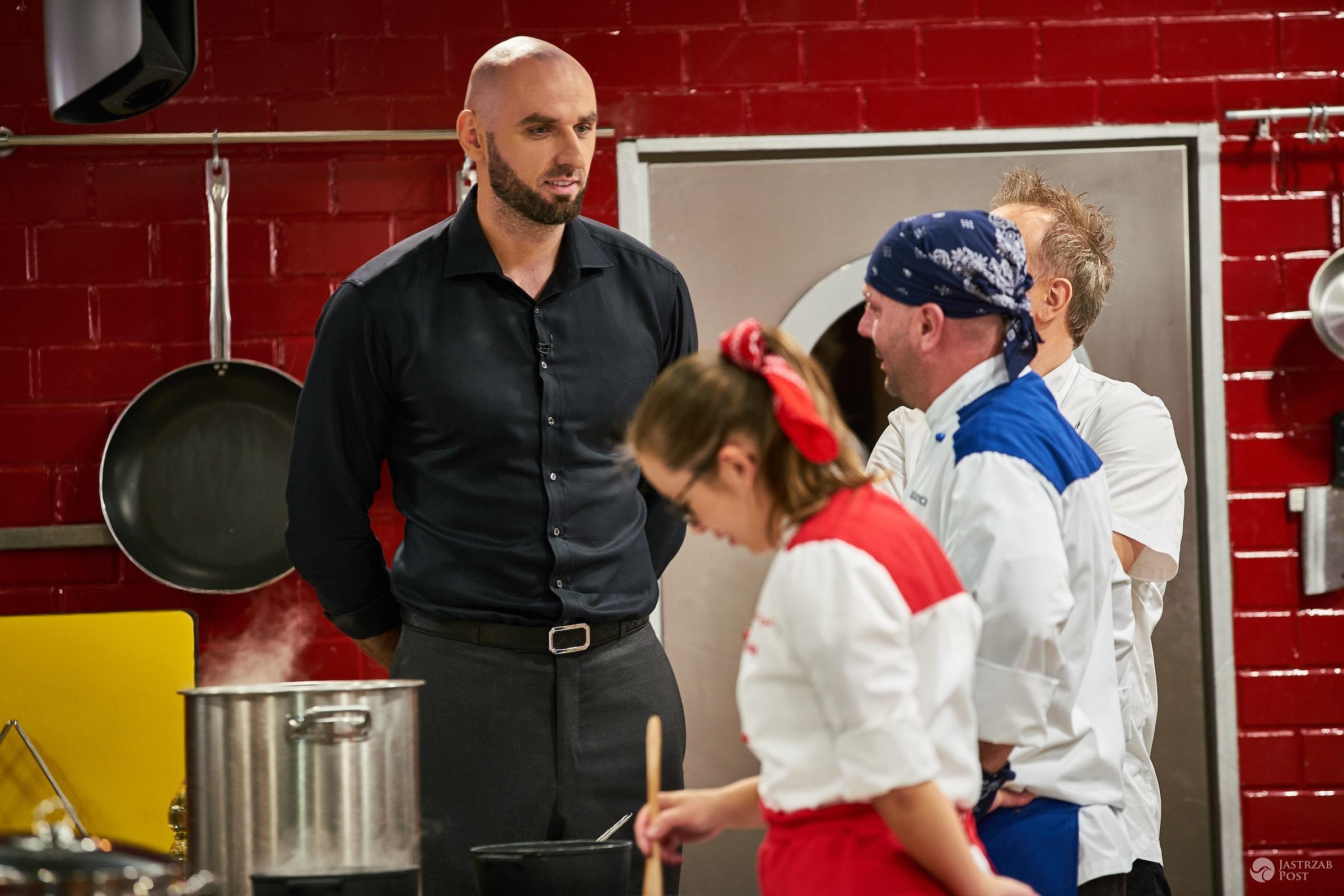 Zdjęcia Marcina Gortata w Hell's Kitchen 6 2016