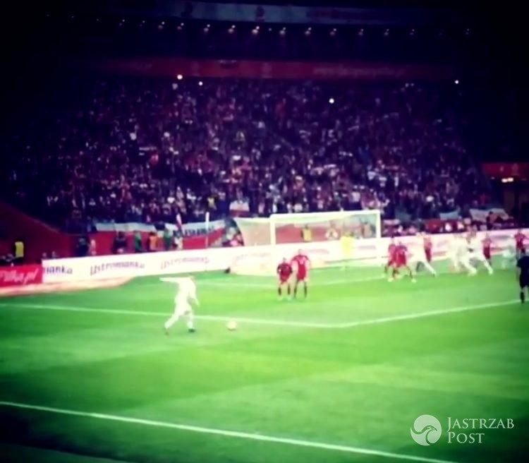 Ostatnia bramka Lewandowskiego w meczu Polska-Armenia