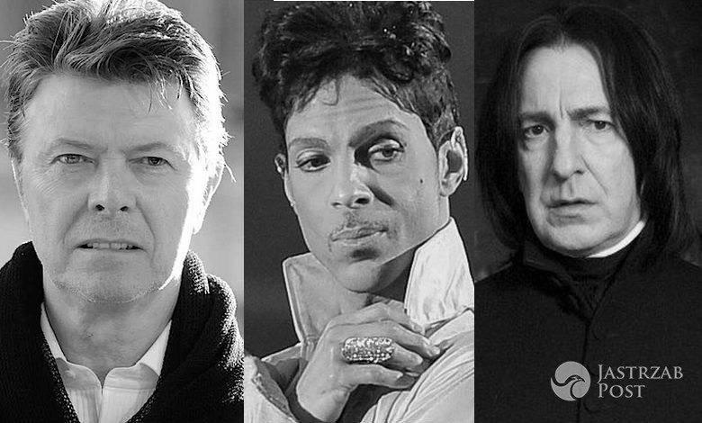 gwiazdy które zmarły w 2016 roku