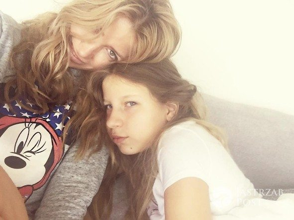 Kate Rozz z córką Mią