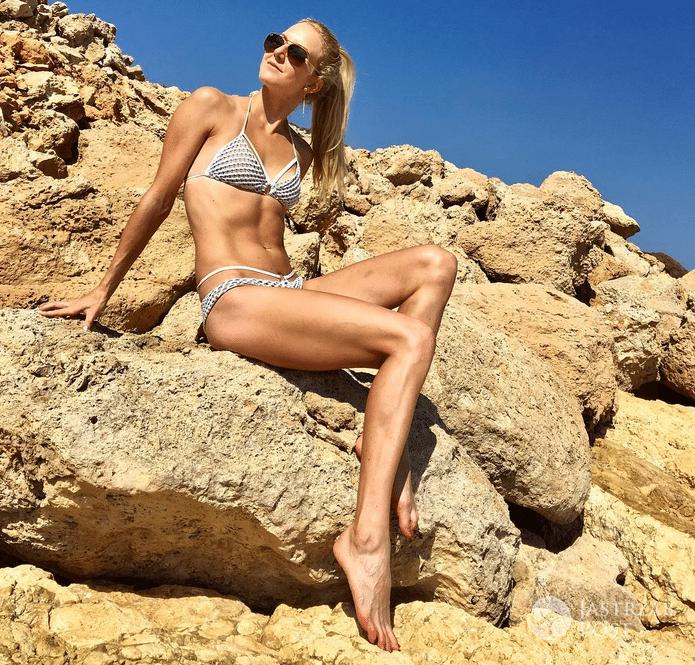 Ula Radwańska w bikini