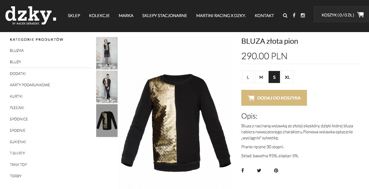 Bluza Sieradzky, którą nosi Eva Longoria