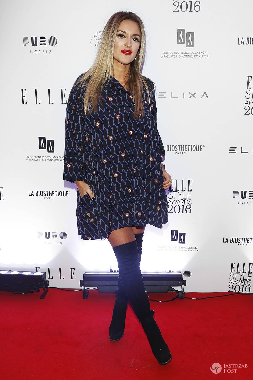 Karolina Szostak na imprezie Elle Style Awards 2016