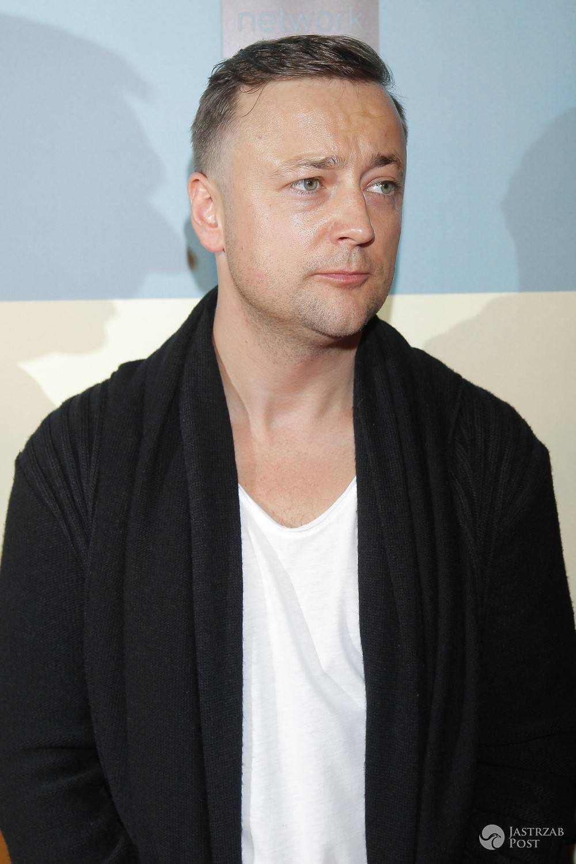 Czesław Mozil na premierze filmu