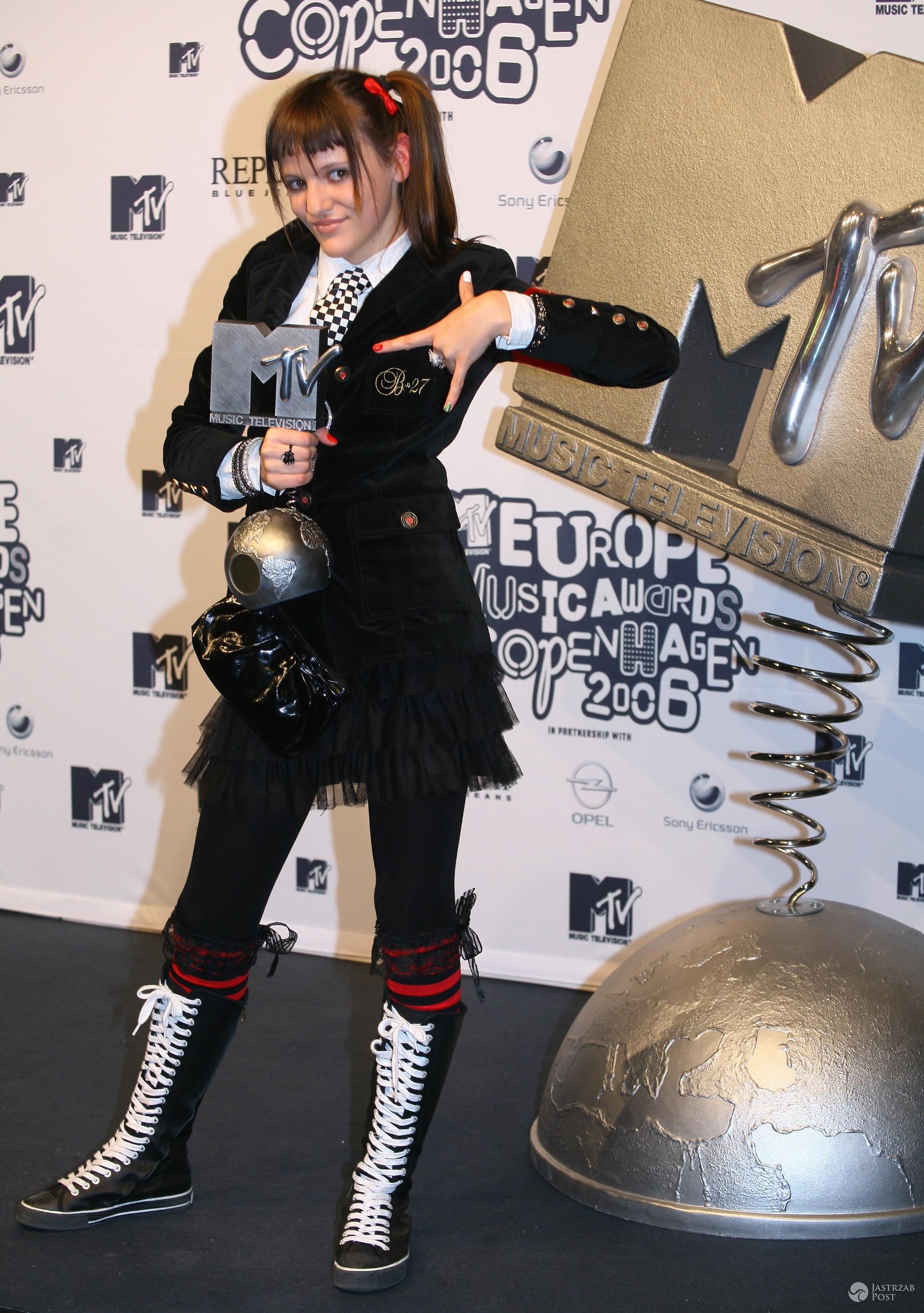 Blog 27 (Tola Szlagowska) z nagrodą MTV EMA 2006