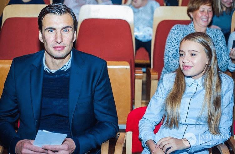 Jarosław Bieniuk z córką Oliwią (fot. Instagram)