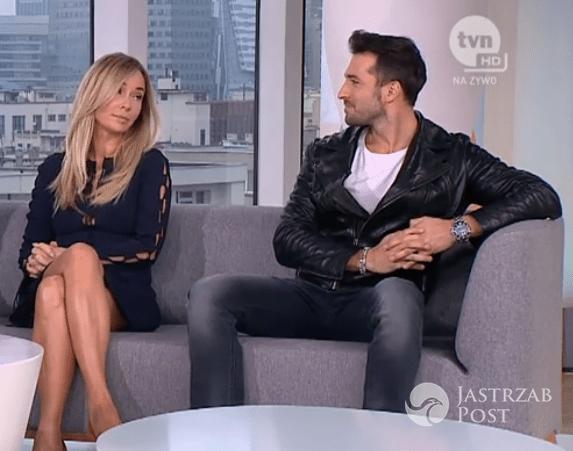 Joanna Przetakiewicz i Rafał Maślak w Dzień Dobry TVN fot. screen z dd.tvn.pl