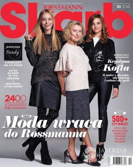 Okładka magazynu Skarb październik 2016