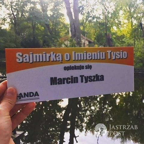 Marcin Tyszka został ojcem