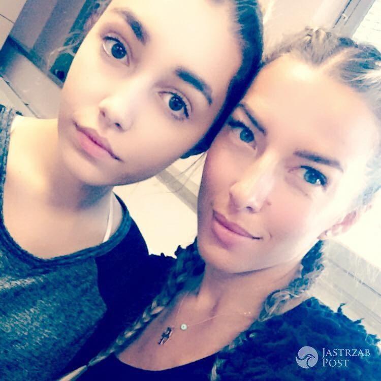 Ewa Chodakowska z siostrzenicą Vaneska