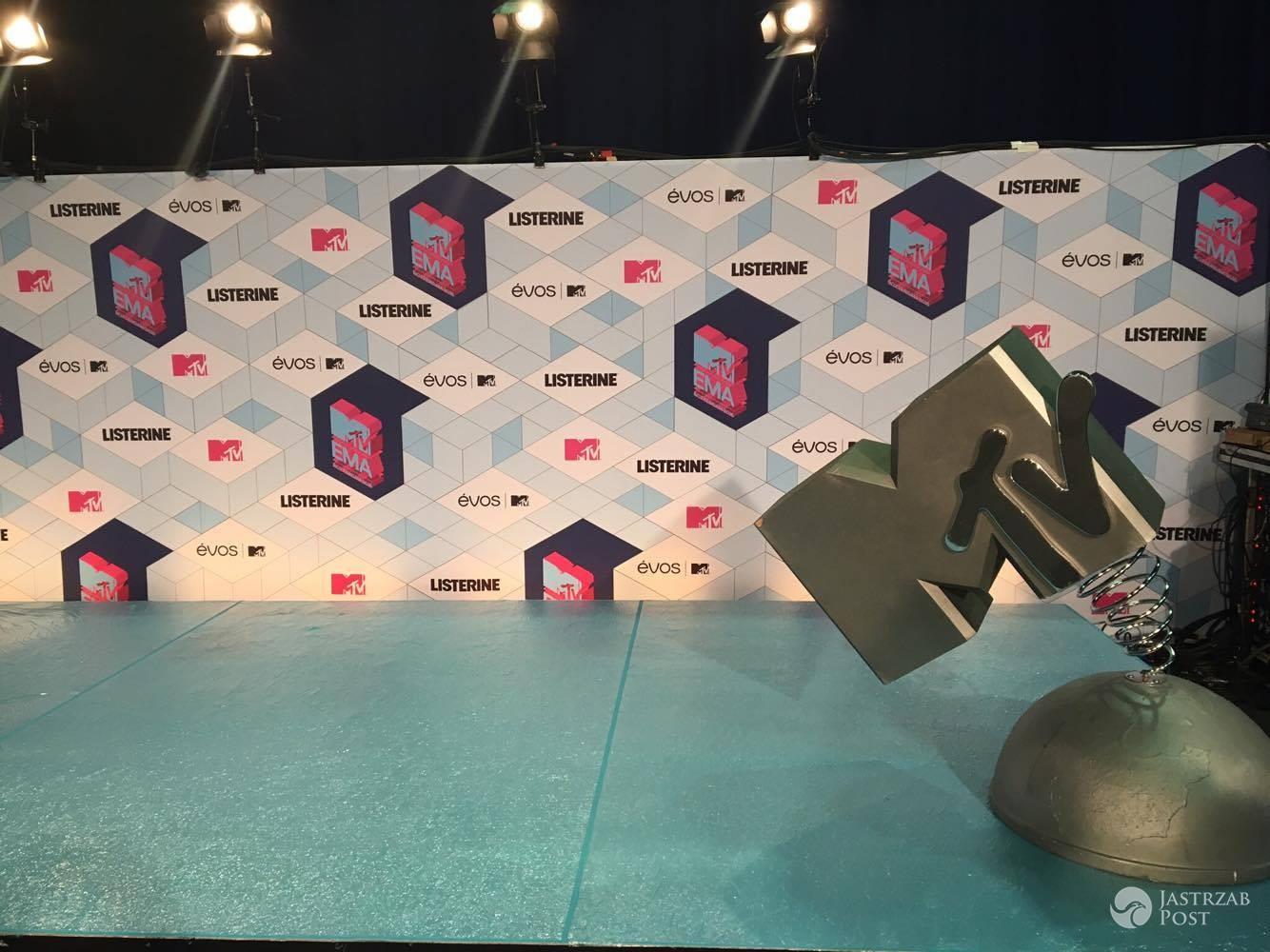 Kulisy MTV EMA 2016 - ścianka