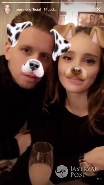 Marina Łuczenko i Wojciech Szczęsny w Wenecji