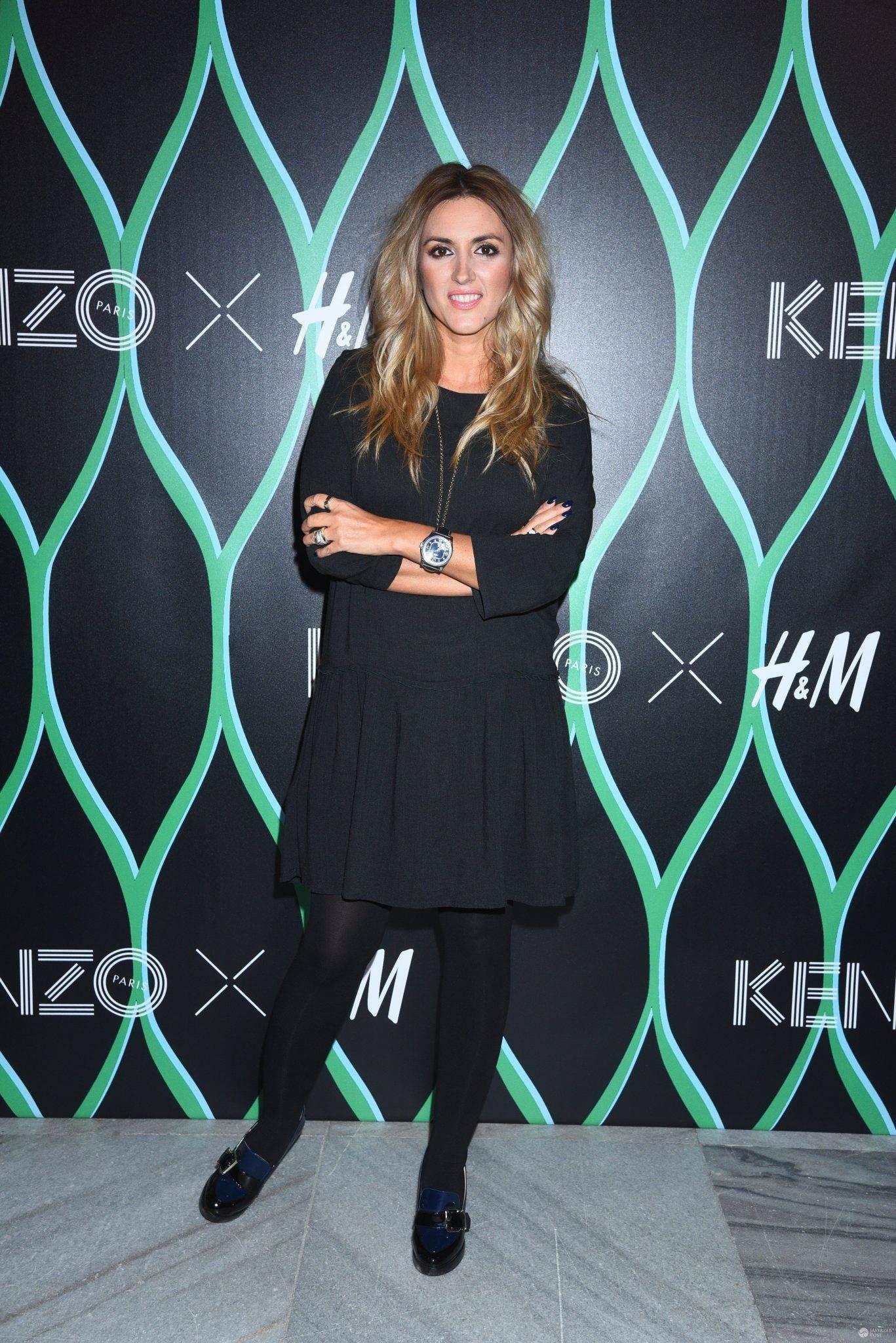 Karolina Szostak - premiera kolekcji Kenzo x H&M