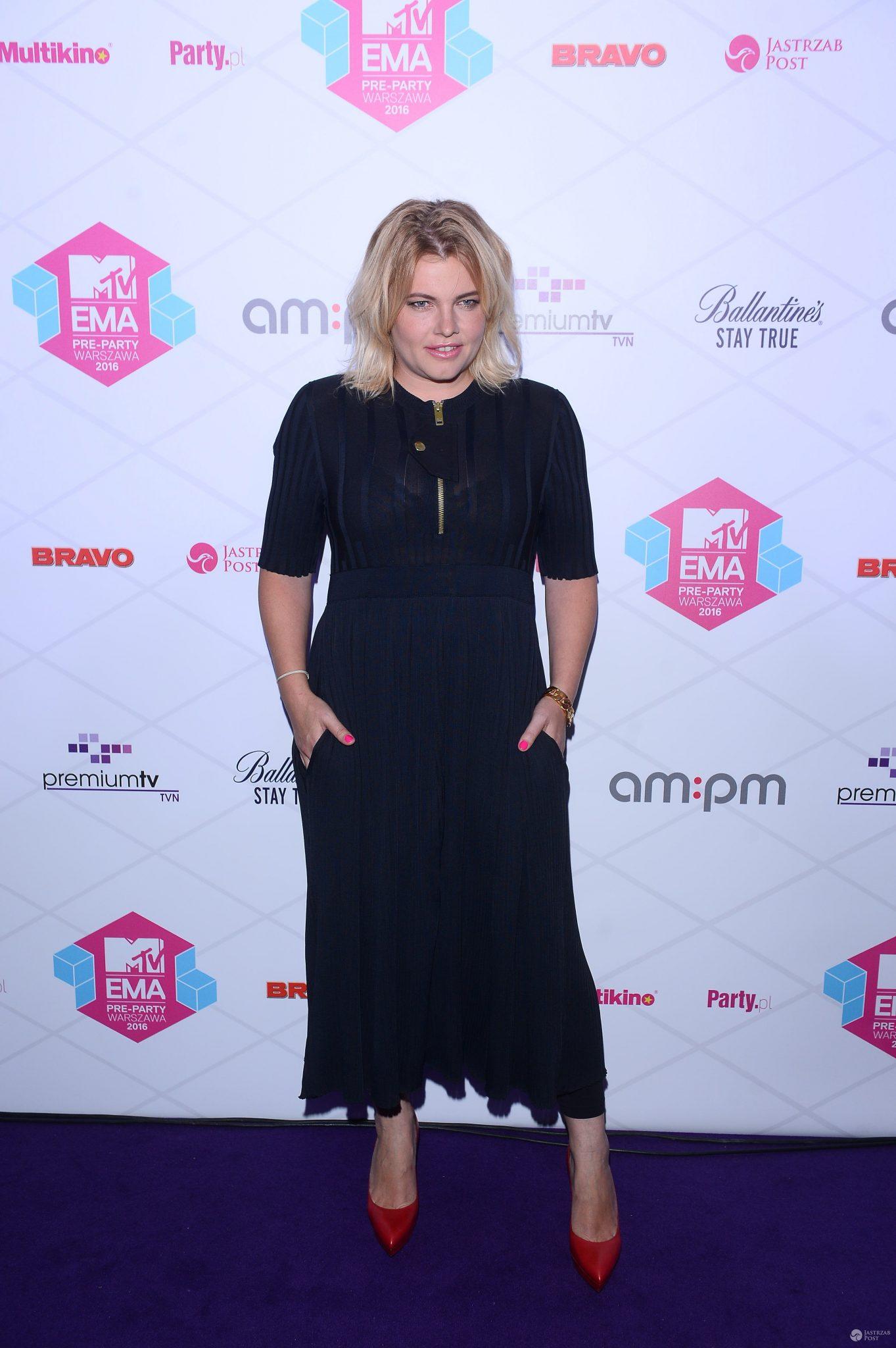 Ania Dąbrowska - MTV EMA PRE-PARTY 2016