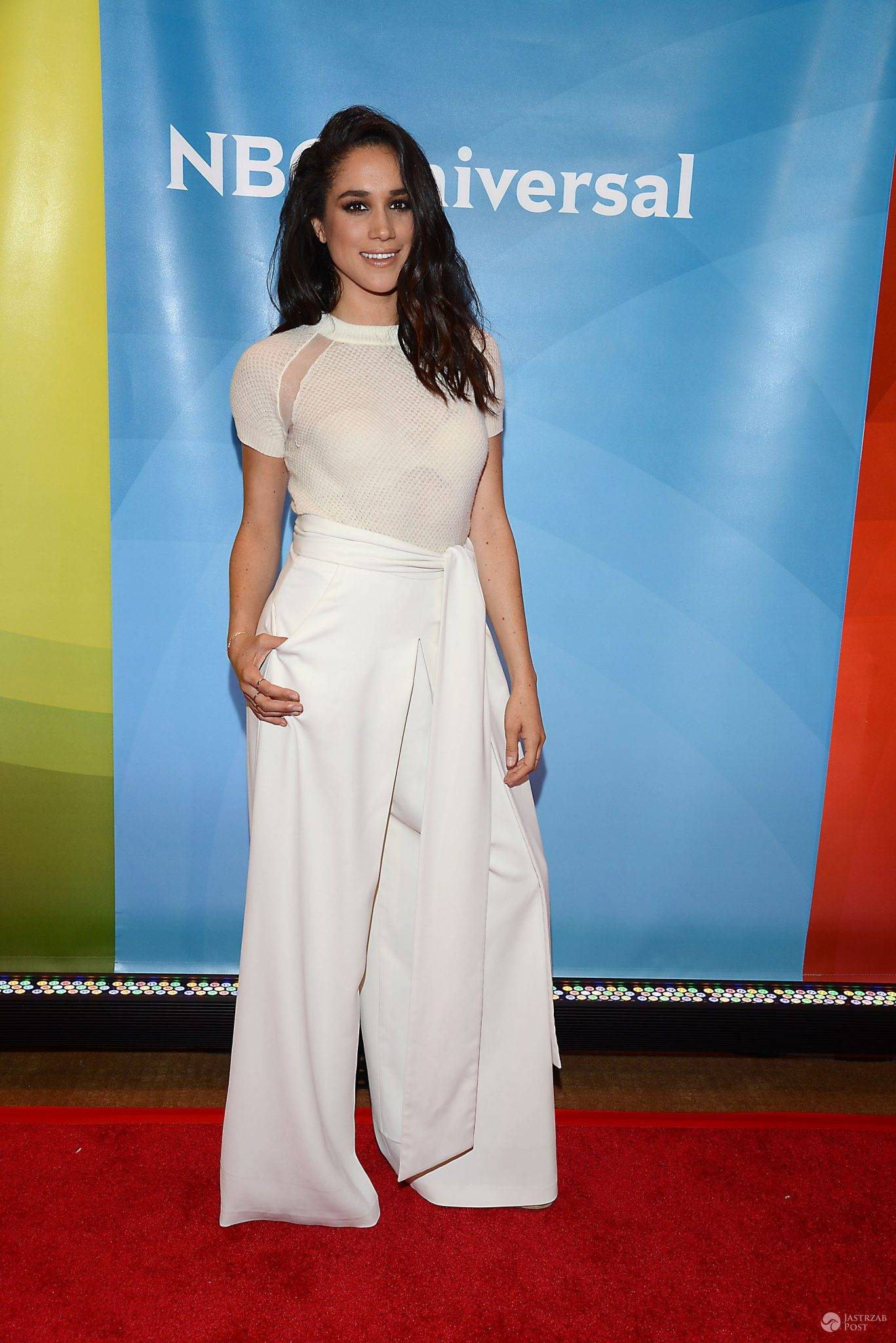 Meghan Markle attends the NBCUniversal New York Summer Press Day on June 24, 2015 at the Four Seasons Hotel in New York City, New York, USA.