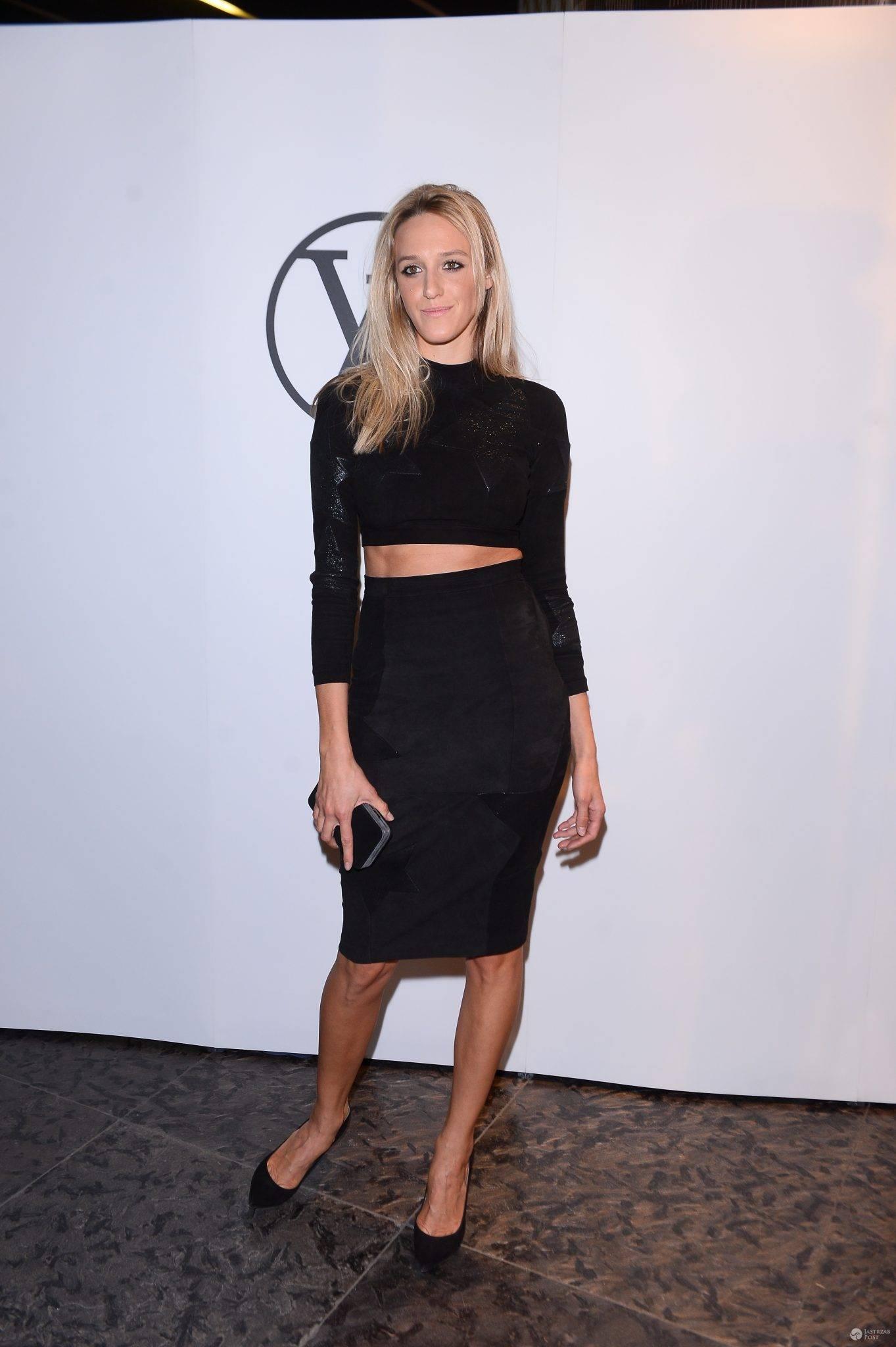 Aleksandra Żebrowska - impreza Louis Vuitton