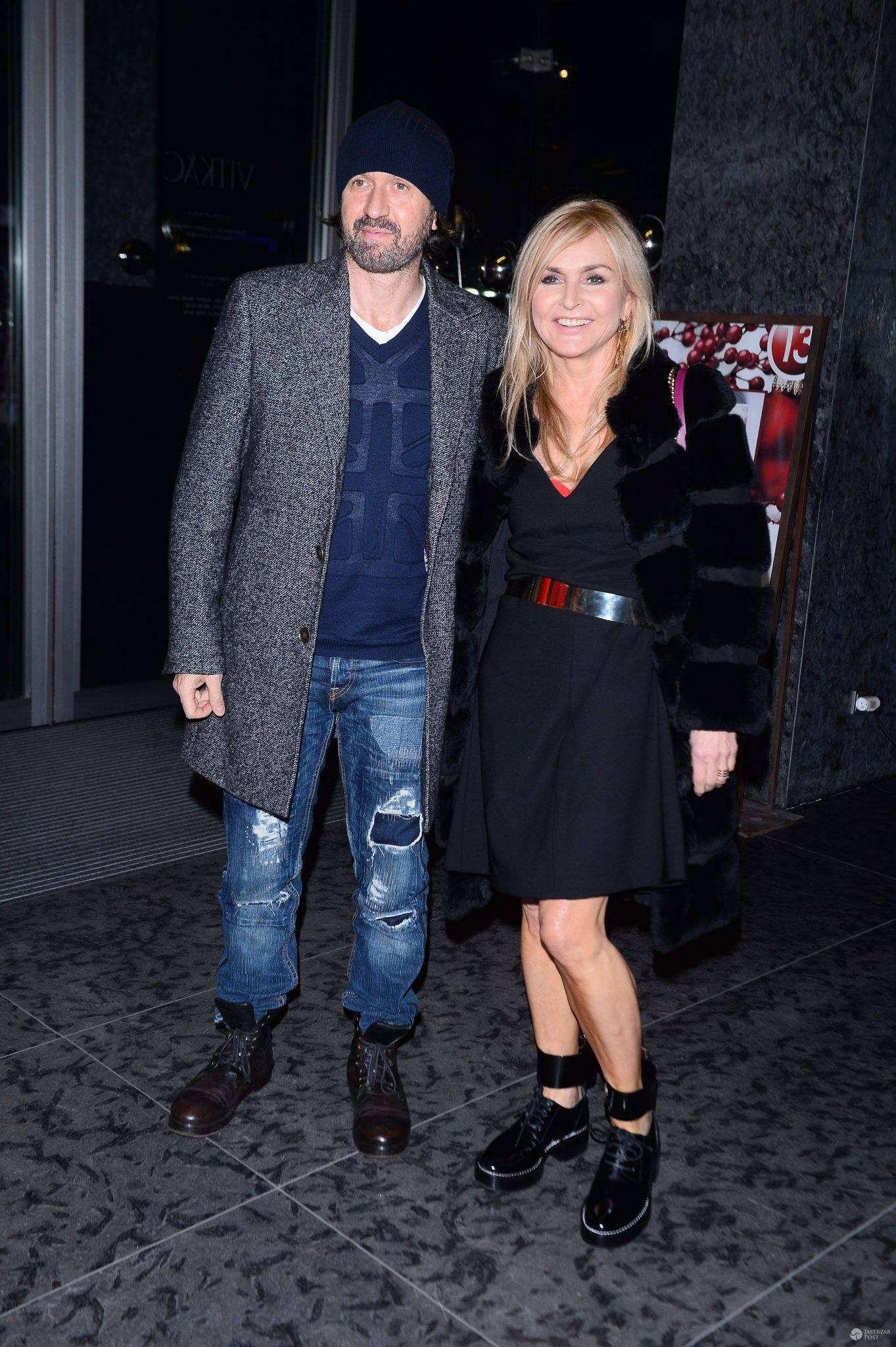 Monika Olejnik i Tomasz Ziółkowski na imprezie Louis Vuitton