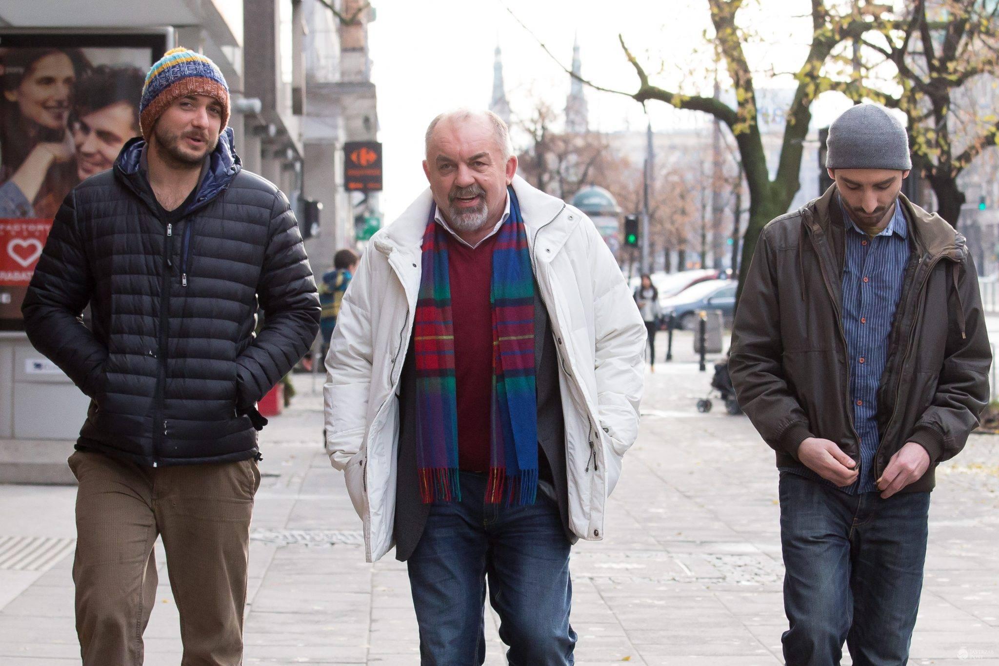 Michał, Piotr i Janusz Żurawscy