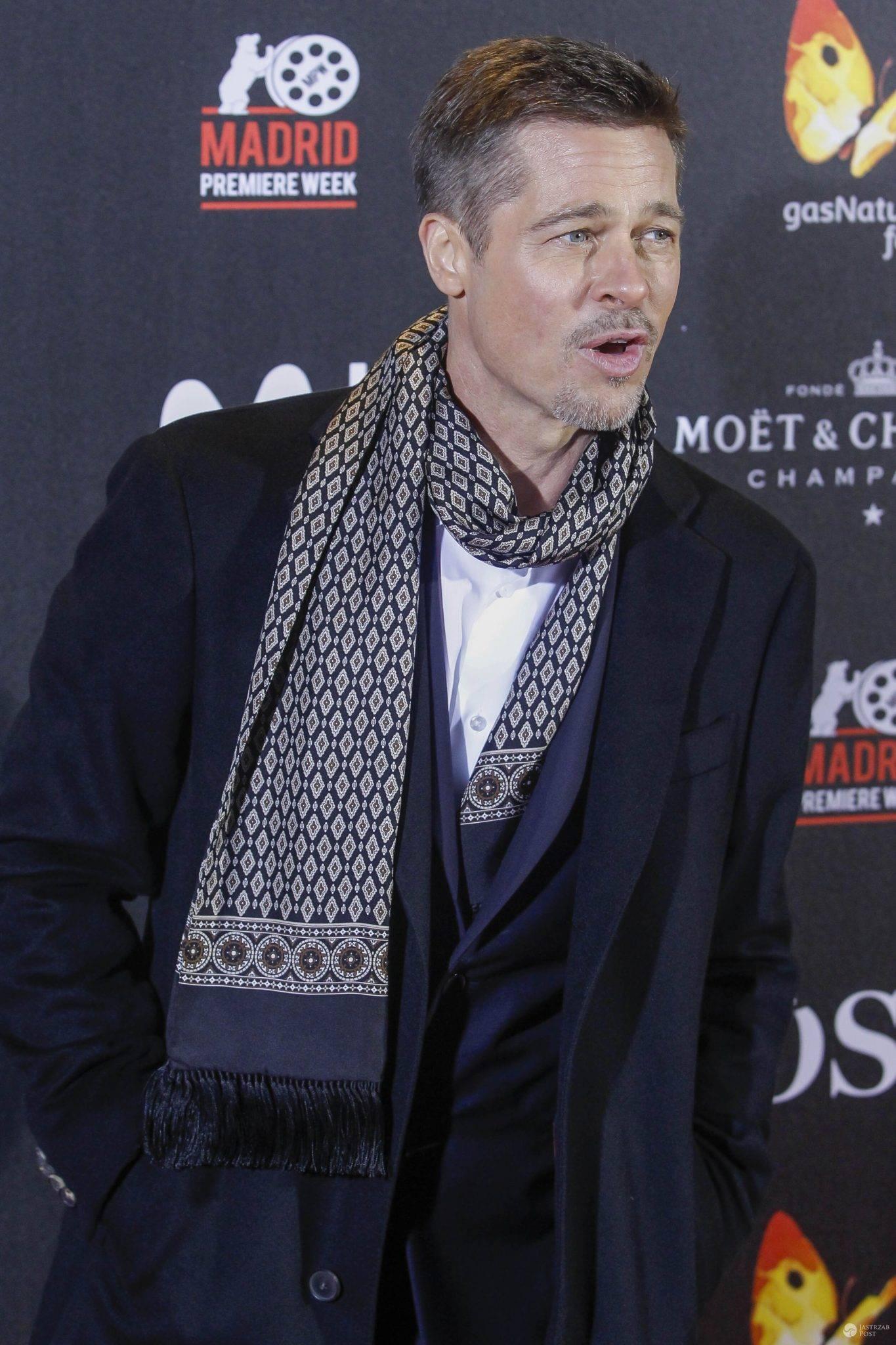 Brad Pitt - operacja powiek